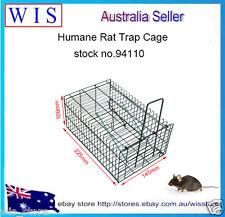 Humane Rat & Mouse Trap,Live Animal Pest Rodent Mice Mouse Control Bait Catch