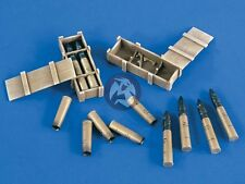 Verlinden 120mm (1/16) Russian T-34/76 Tank Ammo with Crates (Trumpeter) 2136