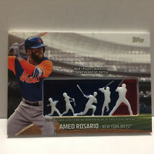 2018 Topps Amed Rosario Commerative Players Weekend Logo Patch Card