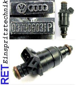 Einspritzdüse 037906031P Audi 80 /90 / 100 2,0 gereinigt & geprüft