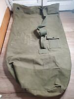 US Vietnam-War Military Vintage Canvas Large Duffle Bag