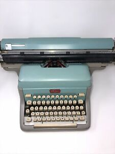 EXTREMELY RARE! 1960 Royal FPDE Accounting Typewriter(5 Rows Of Keys)