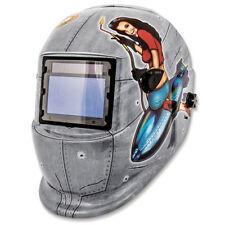 Titan Pinup Girl Solar Powered Auto Dark Welding Helmet - 41288
