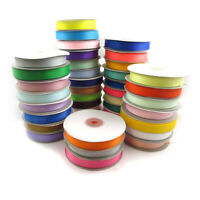15mm GROSGRAIN RIBBON 25 METRE SPOOL *39 COLOURS* WEDDING DUMMY CRAFT GROSSGRAIN