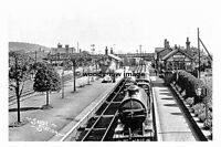 pt7939 - Sandy Railway Station , Bedfordshire - photograph 6x4