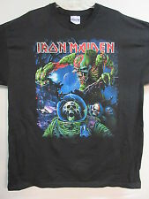NEW - IRON MAIDEN FINAL FRONTIER TOUR BAND CONCERT MUSIC T-SHIRT EXTRA LARGE