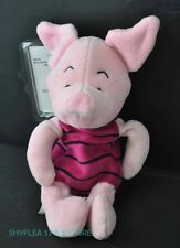 Piglet Mini Bean Bag Disney Store Plush Protector Pink Pig Cute Pooh's Friend