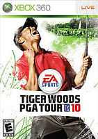 Tiger Woods PGA Tour 10 (Microsoft Xbox 360, 2009) Disc Only - No Case