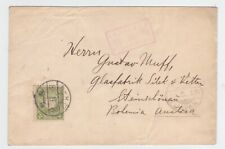 JAPAN 1913 PRINTED MATTER COVER TO AUSTRIA