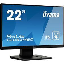 "iiyama T2252MSC-B1, LED-Monitor, 54,6 cm (21,5""), schwarz"