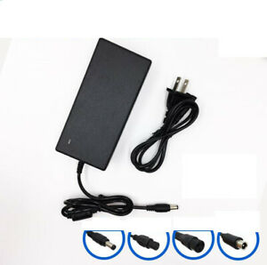 54.6V 2A Lithium Battery Power Charger for 48V Scooter Motor bike DC/3-Prong/Mi