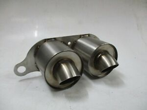 Porsche 997 991 GT3 GT3RS RS Bolt On Trackday Exhaust Silencer Tailpipe