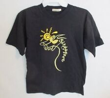 ISLAND WAVES SOLID BLACK SINGAPORE CREWNECK SHORT SLEEVE GRAPHIC TEE *SZ L*