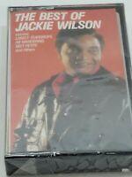 VTG NIP 1989 THE BEST OF JACKIE WILSON CASSETTE TAPE!