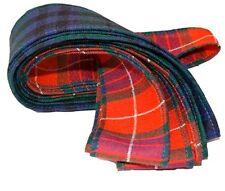 Scottish Handfasting Ribbon/Fabric (Choose Your Tartan A-M)  - Made in Scotland
