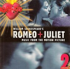 WILLIAM SHAKESPEARE'S ROMEO + JULIET VOL. 2 - MUSIC FROM THE MOTION PICTURE / CD