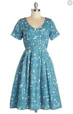 Modcloth Poppy London Clean Winner Dress  UK 8 US 4 Euc Bryony Palava