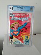 Supergirl Movie Special #1 CGC 9.4 DC Comics Helen Slater Superman