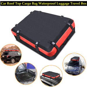 Car Off-road SUV Roof Luggage Bag Cargo Dustproof Waterproof Travel Storage Bag