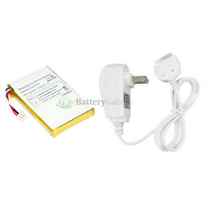 NEW Replacement Battery+Wall Charger for Apple iPod 3rd Gen 3G 10GB 100+SOLD