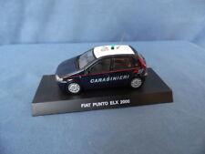 MODELLINO METALLO AUTOPARCO CARABINIERI-FIAT PUNTO ELX DEL 2000-1/43