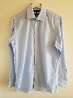 "Men's Austin Reed Blue Shirt 15.5"" Collar Medium <EE1493"