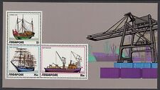 SINGAPORE :1972 Shipping miniature sheet SGMS188 MNH