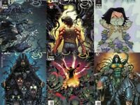 Darkness Set Paul Jenkins Dale Keown Variant Witchblade Millar Wanted Preview NM