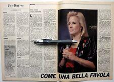 SYLVIE VARTAN =>  magazine italien rare 1991 !!!
