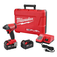 "Milwaukee FUEL 18V Li-Ion 1/4"" Hex Impact Driver Kit 2753-22 New"