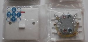 1 X GET 20A DP Switch with Neon White. CLEARANCE - SPECIAL PRICE.