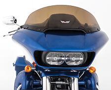 "SLIPSTREAMER 2015 Harley-Davidson FLTR Road Glide WINDSHIELD DARK SMOKE 10"" S-23"