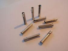 22 Hohlstifte Stahl beschichtet 4,8mm x 27mm mit Arretierung 1Stk./0,35€