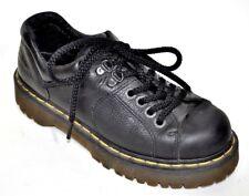 Dr. Martens Black Oxford AW004-10940 leather Shoes UK5 US Men 6- ladies 7 / 38