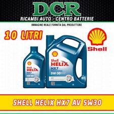OLIO MOTORE SHELL HELIX HX7 AV 5W30 SINTETICO ACEA C3 - 10 LITRI - 502.00 505.01