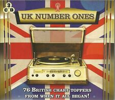UK NUMBER ONES 76 CHART TOPPERS FROM WHEN IT ALL BEGAN November 1952 - July 1958