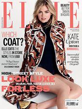 ELLE Magazine UK BRITISH September,Kate Upton FREE Magazine Supplement  SEALED