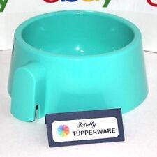 Tupperware Pet Bowl Dog Cat Water Food Dish Blue Dishwasher Safe 3416 Rare!