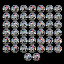 All 45 United States Presidents Silver Coin Set Home Decorative Art Crafts 44pcs