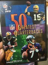 NFL The 50 Greatest Quarterbacks region 1 DVD (American sports) * rare *