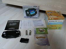 Nintendo Game Boy Advance schwarz - OVP - 5 Spiele