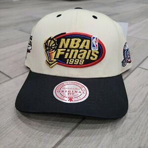 NEW Mitchell & Ness 1998 NBA Finals Chicago Bulls Utah Jazz Snap Back Hat Jordan