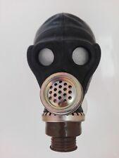 Gasmaske gas mask Affengesicht  DDR UDSSR  NVA russisch Gr 2  M schwarz