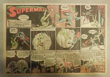 Superman Sunday Page #166 by Siegel & Shuster from 1/3/1943 Half Page:Year #4!