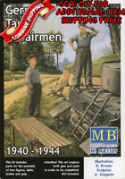 Master Box 3509 WWII German Tank Repairmen 1940-1944, plastic model kit 1/35