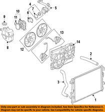 GM OEM-Radiator Cooling Fan Blade Shroud 89019142