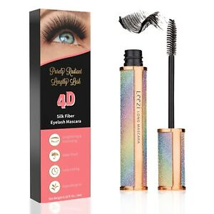4D Silk Fiber Eyelash Mascara Extension Makeup Black Waterproof Eye Lashes USA