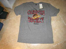 "VANCOUVER CANUCKS ""CCM"" VINTAGE T SHIRT (LRG) NW/TAG GRAY W/CLASSIC LOGO"