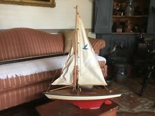 Old Vintage 1940s / 50s Seifert Pond Boat Made In Germany
