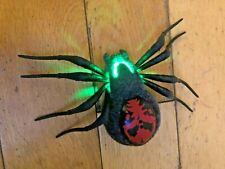 Wild Pets Electronic Pet Spider -Creepster programmable black and red Spider vgc